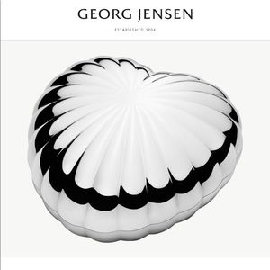 Georg Jensen Heart Dish NEW in BOX